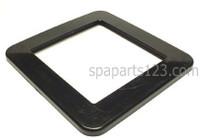 PLU21600170 Cal Spa SKIMMER SPA PLASTIC TRIM PLATE BLACK