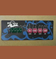 PDC Spas Topside Control Inlay 4