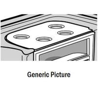Old Round Black Filter Cover (Pressurized Canister) Master Spas