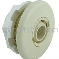 Micro Wall Fitting W/ Nut, White-Bone