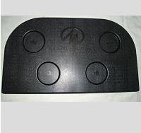Master Spas Filter Lid, Black ('01-'04)