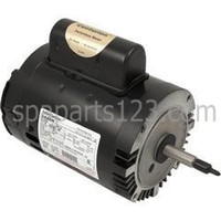 Jacuzzi® Magnum Spa Pump Motor C-Face B126 Thd 1/2HP Sgl Spd 115/230V (#28)