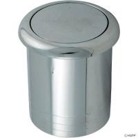 Spa Air Button, Flush Econo Button, Chrome