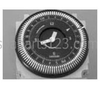 10170, Dynasty Spas Time Clock, B&W, 110v, 10170 (Prior to 2003)