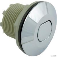 Spa Air Button, Contemporary Flush Button, Chrome