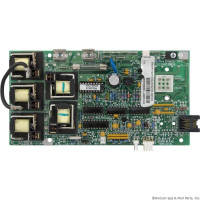 52380 Caldera Spas Circuit Board, Models Pro 3 Lite Leader W/ Economy 2 Pump W/ 4 Button Duplex **Discontinued**