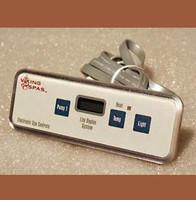 91150 Viking Spas Topside, VS500-502, 3 Button, 1 Pump, 2005+