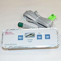 80150 Viking Spas Topside, For Lite Leader Systems, 3 Button, Slimline, 2000-2005