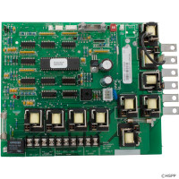50768 Caldera Spas Circuit Board Models 9110 Standard, W/ Ribbon Cable, 50804 **Discontinued**