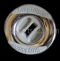 6540-666, 6000-315 Sundance® Spas Jet Insert, Fluidex Intelli-Jet, Gray or S/S