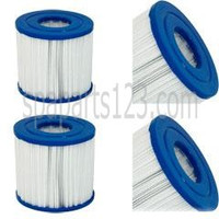 """5"""" x 4-5/8"""" Thermo Spas Filter PRB17.5-SF, C-4401, FC-2386 (Sold as Pair)"""