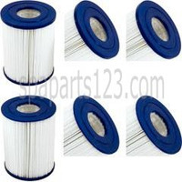 "5"" x 6-5/8"" Spa Filter Diamante Spas, (pkg of 2), PRB25-SF, C-4405, FC-2387"