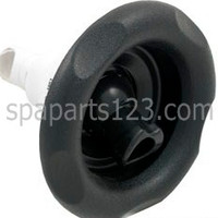 "5"" Power Storm Spa Jet, Scalloped Face, Roto, Black 1"