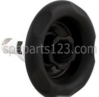 "5"" Power Storm Spa Jet, Scalloped Face, Twirl, Black 1"