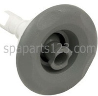 "3"" Scalloped Mini Storm Spa Jet Insert Directional, Gray"