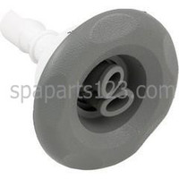 "3"" Scalloped Mini Storm Spa Jet Twin Roto Gray"