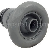 "3 3/8"" Scalloped Poly Spa Jet Adjustable, Gray"