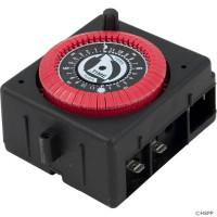 Intermatic Spa Time Clock, Spa Timer, 24 Hr. Panel Mount , 120vac, PF & RC Series W/Override ( PB913N66 )