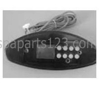 10798 Dynasty Spas Topside Control, TSC-48, Tri-Oval, MSPA-MP, 0201-005001