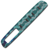 01560-220, D1 Spas Topside Inlay (Teal), '97 Santiago