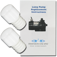 01512-3048 D1 Spas Laing Circulation Pump Replacement Kit