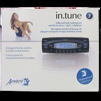 01564-0045 D1 Spas Advanced In.Tune Waterproof CD/Receiver (Black)