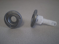 "2"" Cal Spa Jet Insert, Euro Cyclone, No Eyeball, Swish W/ Logo, PLU21703439"