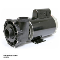 "Cal Spa Pump, 5.0HP 240V 2Spd 56fr 2"" In/Out"