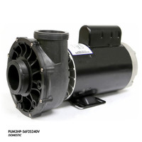 "Cal Spa Pump, 3.0HP 240V 2Spd 56fr 2.5"" In/Out"