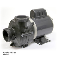 "Cal Spa Pump, Circ, .1 HP 240 V 1 Spd 56 Fr 2"" In/Out"