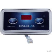 54116 Balboa Topside, 2 Button, 6 Conductor, 10' Cord
