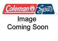 101236 Coleman Spas Topside Panel, 2  Pump, W/ Turbo Air, 506 & 508SLII, 47,50, 55