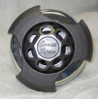"5"" Coast Spas Jet, Power Storm, Threaded, Massage, LED, Tri Lever, Dk Gray W/ Stainless, CC2297829-GMSSx"