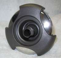 "5"" Coast Spas Jet, Power Storm, Threaded,Tri Lever, Roto, Dk Gray W/ Stainless, CC2297839-GMSSx"