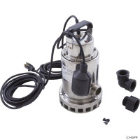 Pump,Submersible,Pentair Sta-Rite,0.5hp,115v,Stainless,OEM (1)