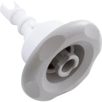 "3"" Mini Storm Spa Jet, Directional, Textured Scallop Face, Light Gray, Replaces All Mini Storm Spa Jets"