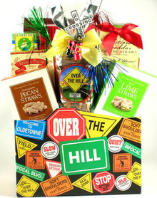 Over The Hill, Birthday Gift Basket