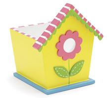 Celinda's Spring Birdhouse Planter