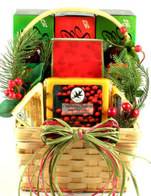 Cheese, Sausage and More, Holiday Gift Basket