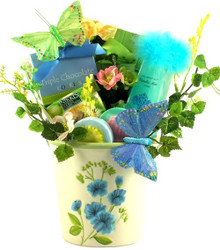 Butterflies and Blooms, Gourmet Gift Basket