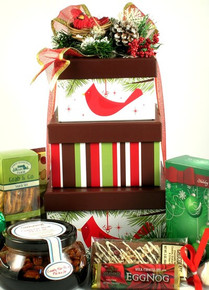 Cardinal Christmas, Deluxe Gift Tower