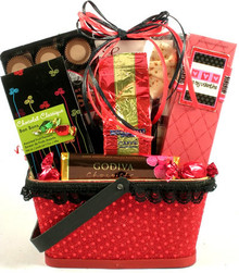X's and O's, Valentines Day Gift Basket