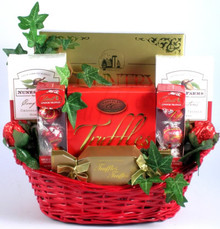 """This marvelous Valentines Day gift is one of our sweetest creations yet! It's filled with the finest chocolates and chocolate covered nuts in every shape and size. It's truly an amazing way to say """"You're So Sweet""""!"""