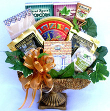 Make their move into their new home even more welcoming by sending this gorgeous keepsake fruit bowl overflowing with a delicious selection of Village favorites!!