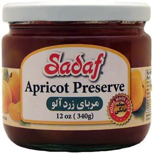 Apricot Jam 12 oz. (340 gr) - Sadaf