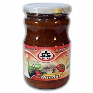 Bandari Pickled (Eggplant litteh) 670 gr -1&1