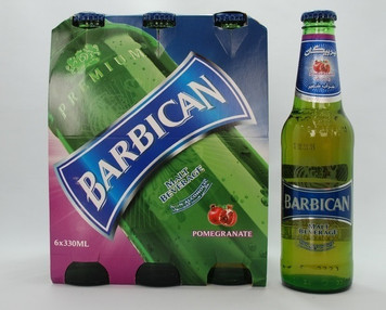 Barbican - Pomegranate Non-alcoholic Malt Drink 6 x 330 ml