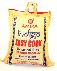 Basmati Rice, Easy Cook (10 lb) - Amira