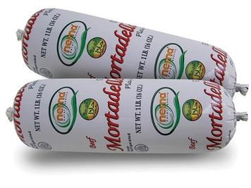 Beef Mortadella plain 450 gr (Halal)- Nema