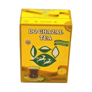 Black Tea with Cardamom  (500 gr) - Do Ghazal
